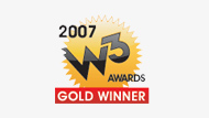 W3 Gold Award Winner